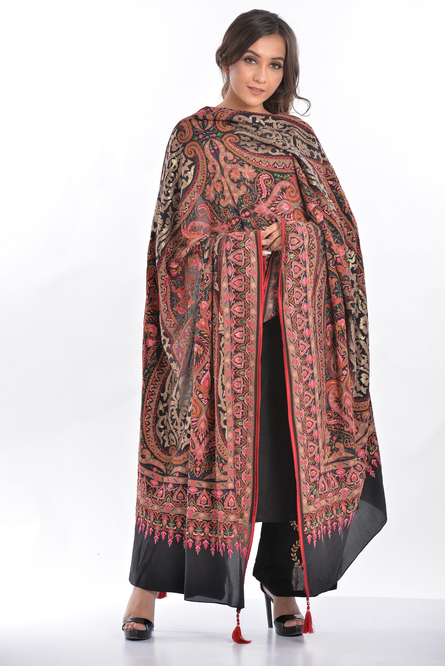 A royal affair of floral, paisley, intricate patterns of